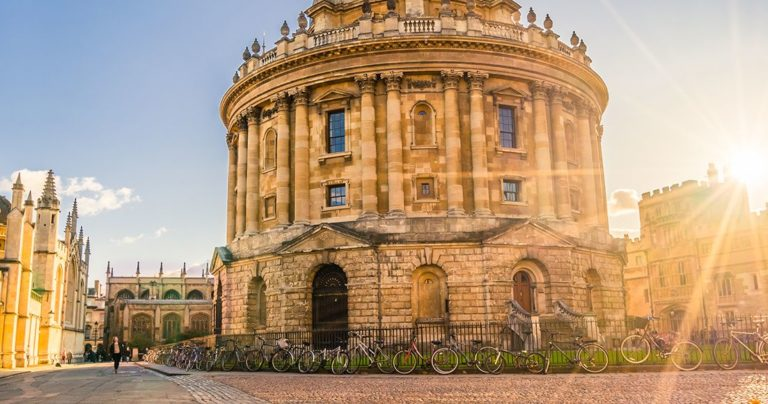 View of Radcliffe camera Oxford