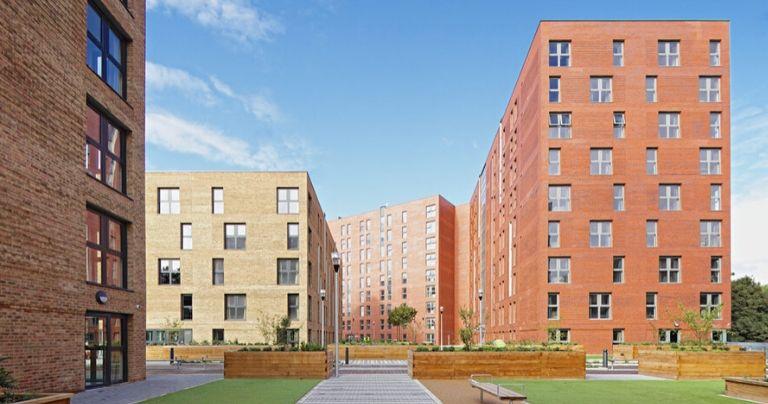 المباني السكنية بجامعة University of Salford