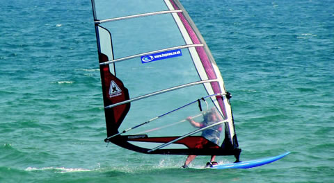 Windsurfing in Brighton