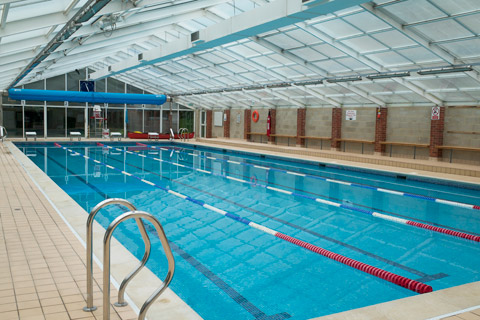 Ardingly College swimming pool