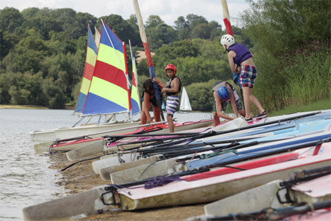 Watersports at Ardingly College