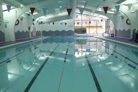 Wycliffe College swimming pool