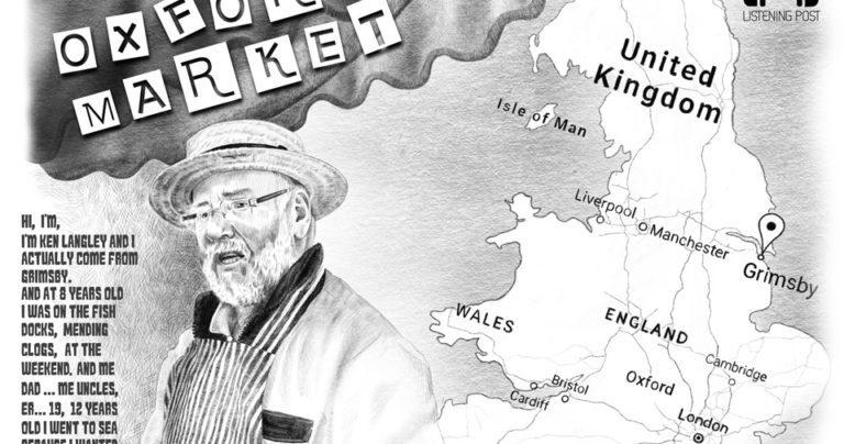 Ken the Fishmonger Poster