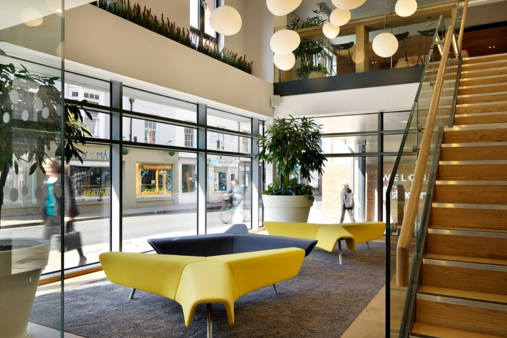 Common area of York Student Castle residence