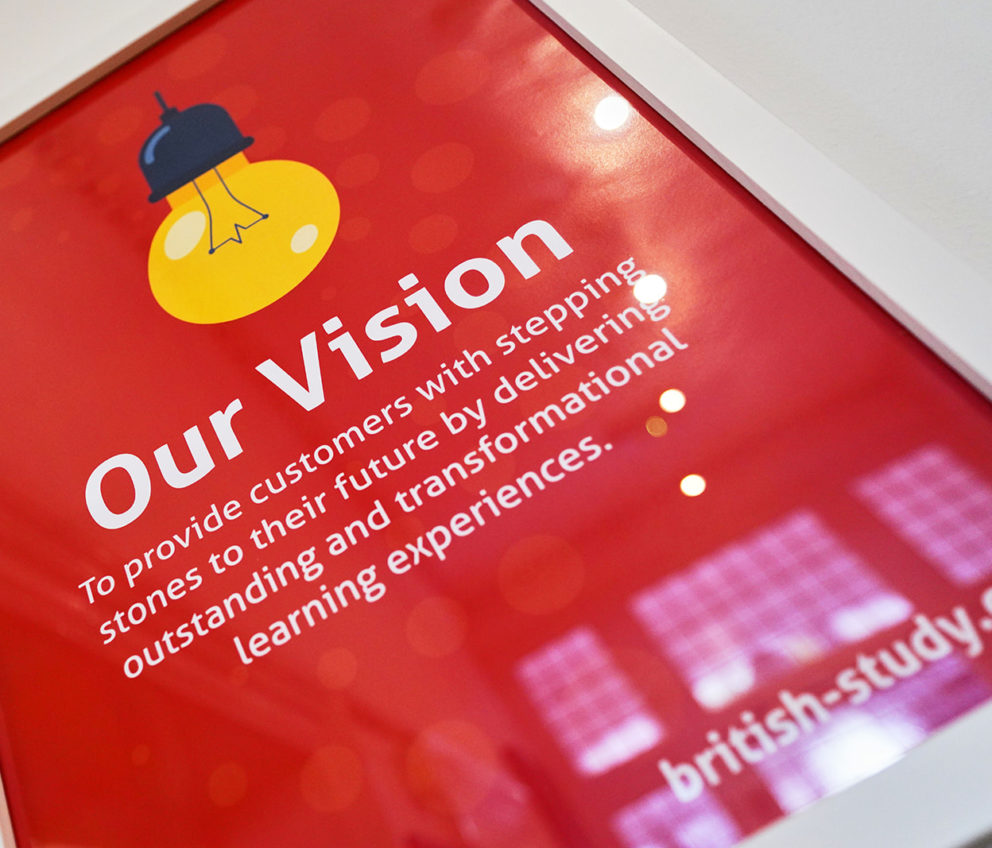 BSC's 'Our Vision' statement