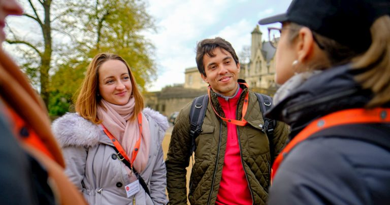 Celta students exploring Oxford