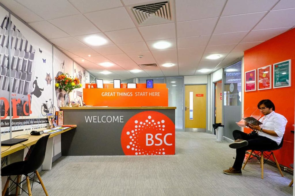 Reception at BSC Oxford