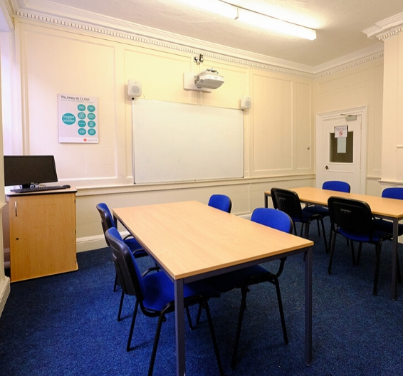 classroom in york language school