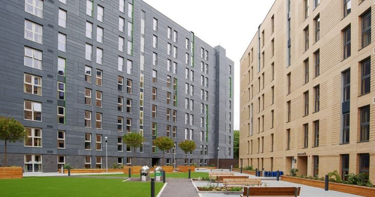 Salford University Accommodation block