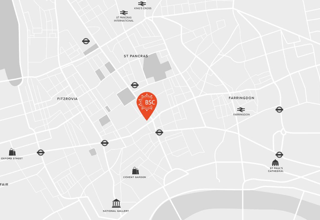 BSC London Map