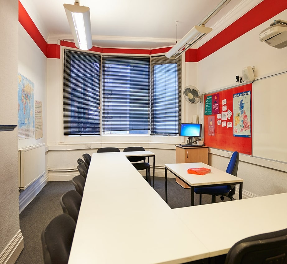 View of the classroom in the BSC Manchester