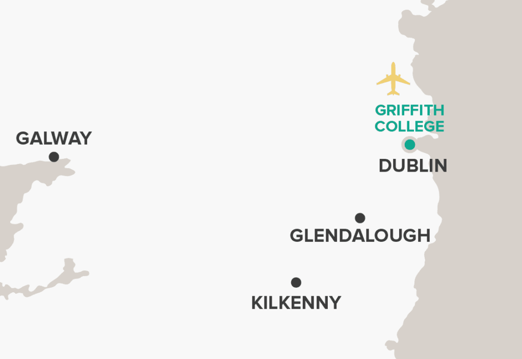 Griffith College Map