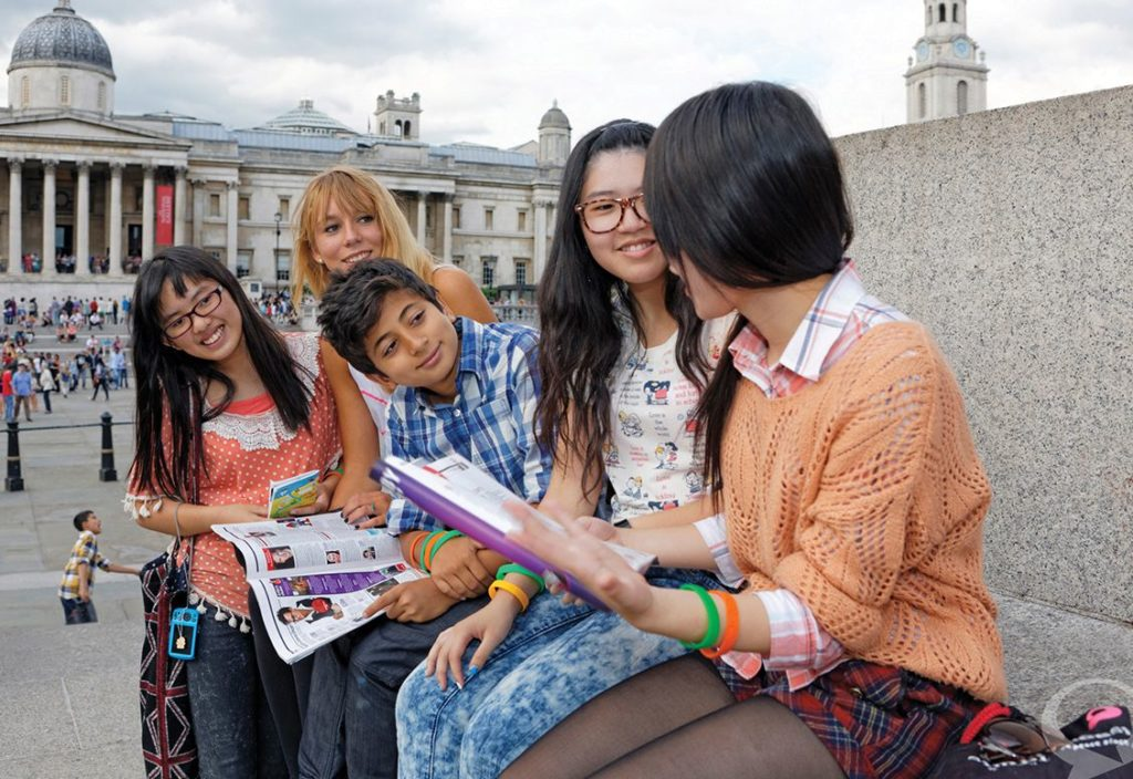 Young Learners Excursion to Trafalgar Square, London