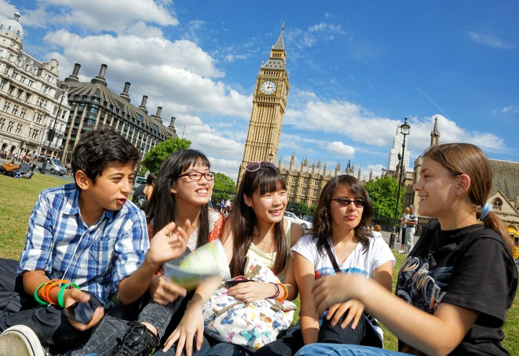 Young Learners group excursion to London