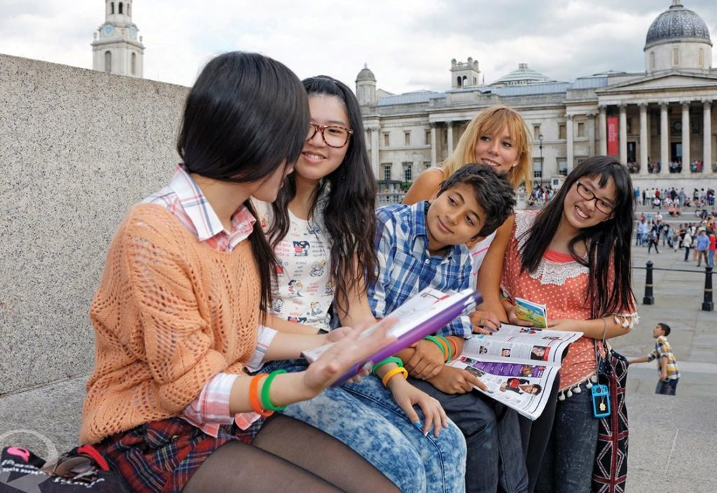 Young students discover London with BSC