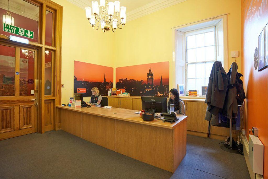 Reception at BSC Edinburgh