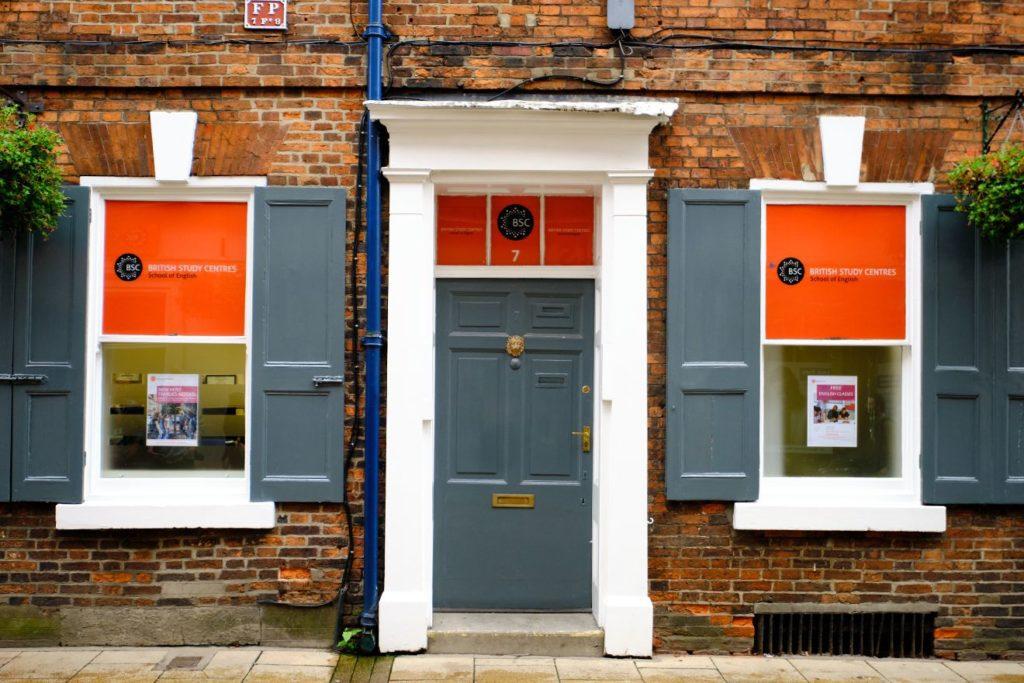Front door of BSC York building