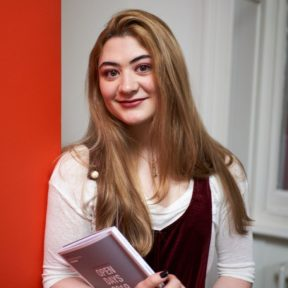 academic English student holding books at BSC London