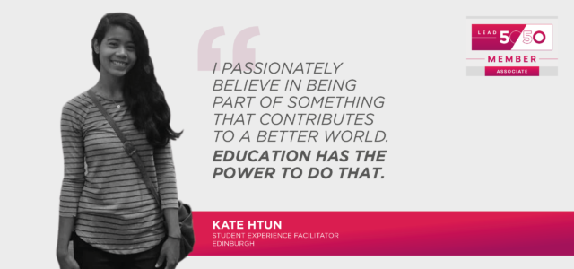 Kate Htun, Lead 5050 quote