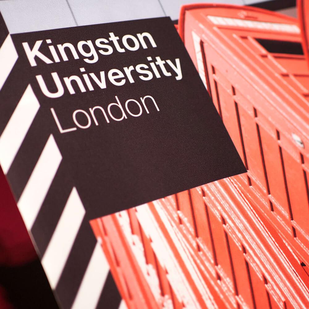 Kingston University signage