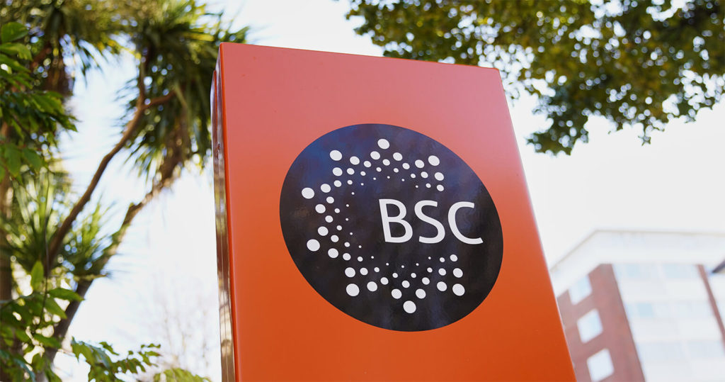 A sign outside BSC Brighton