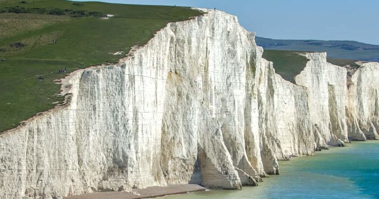View of Seven Sisters Cliffs