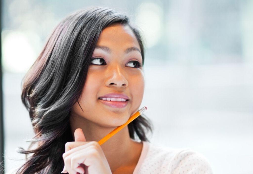Female university student on Masters programme