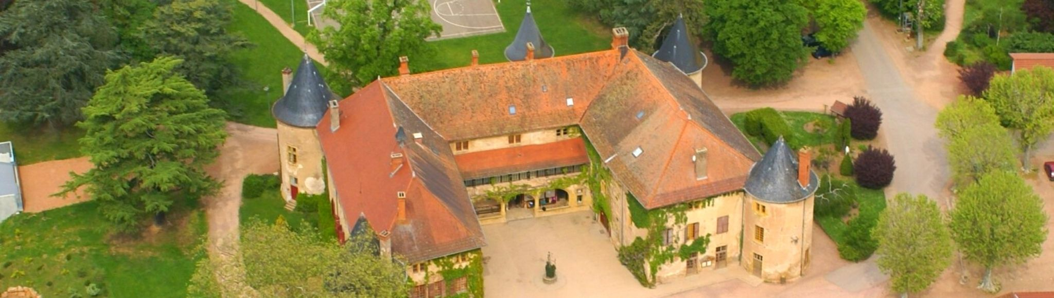 Ressins Residence Aerial view