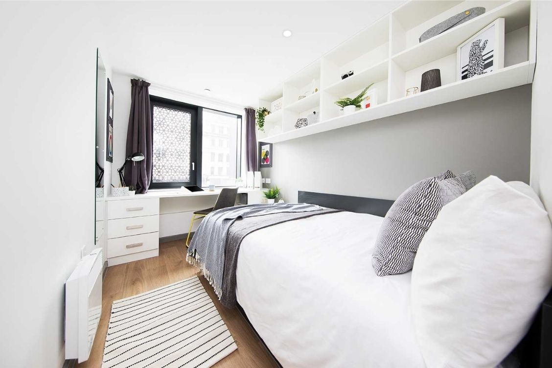 Bedroom at Artisan Heights - Student Residence Manchester