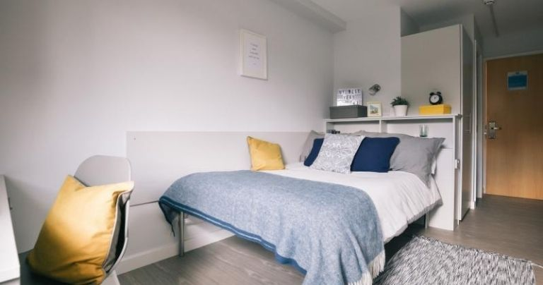 Bedroom at Wilmslow Park Student Residence