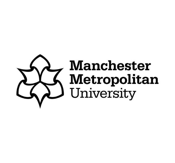 Logotipo de la Universidad Metropolitana de Manchester