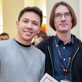 Student with teacher at BSC London