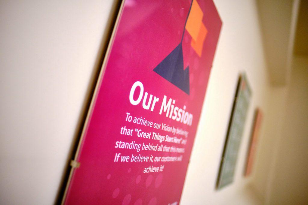 """Déclaration «Notre mission"""" BSC"""