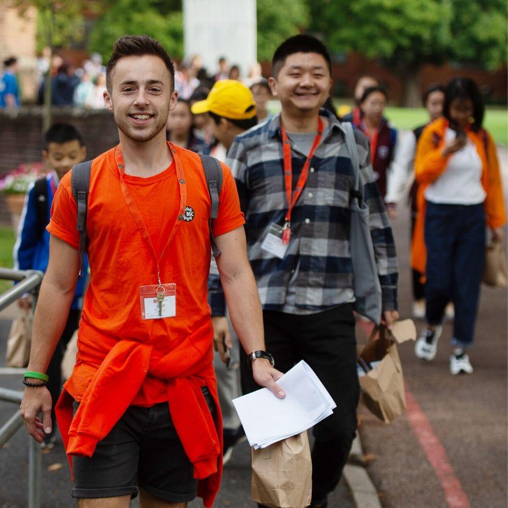 Groupe d'étudiants du British Study Centres