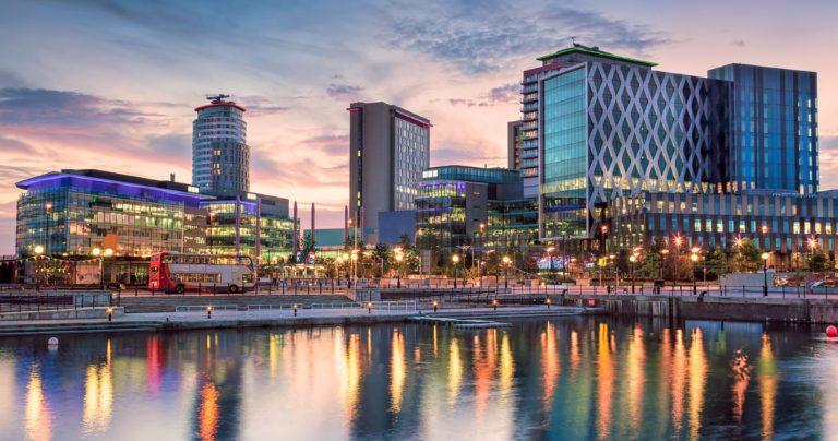 Manchester cityscape
