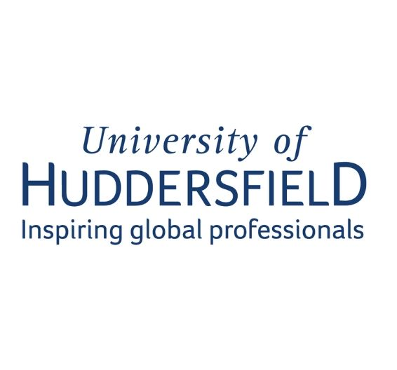 logotipo da Universidade de Huddersfield