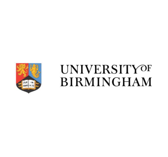 logotipo da Universidade de Birmingham