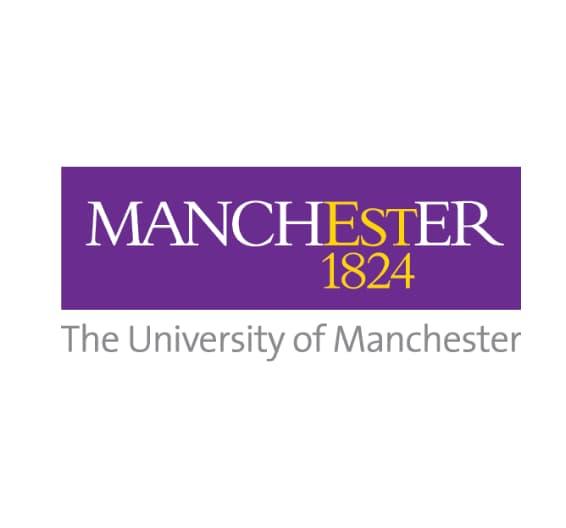 logotipo da Universidade de Manchester
