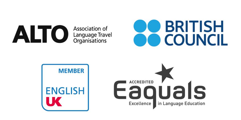 Logotipos de empresas e órgãos que aprovaram as credenciais da BSC