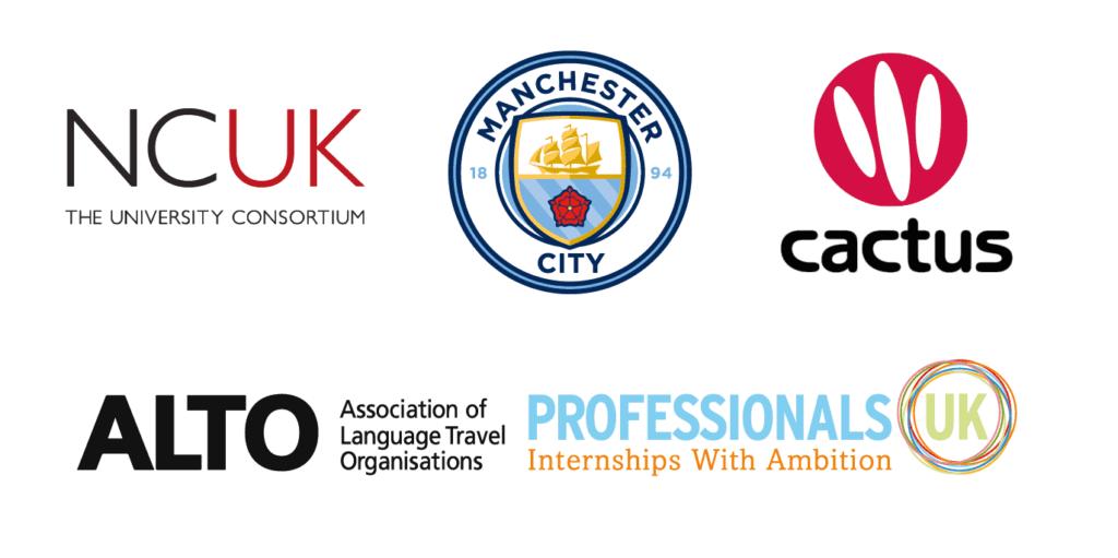 Logotipos dos parceiros da BSC