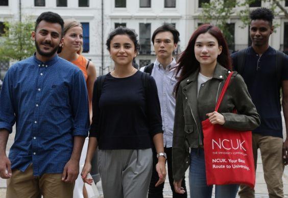 Grupo de estudantes do NCUK
