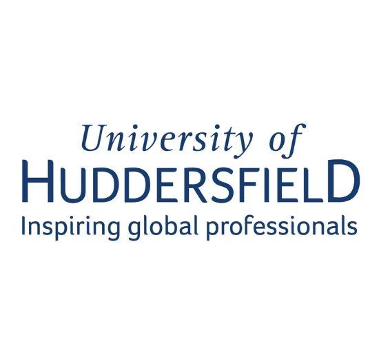 Логотип университета Хаддерсфилда