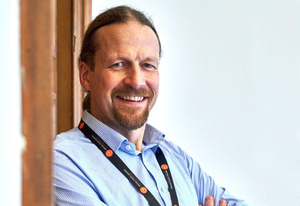Иэн — менеджер по работе с учащимися (Student Experience Manager) в школе BSC, Эдинбург
