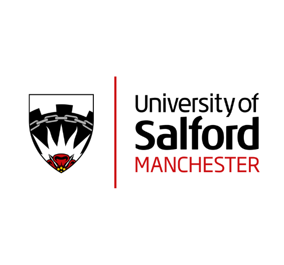 Логотип университета Солфорда