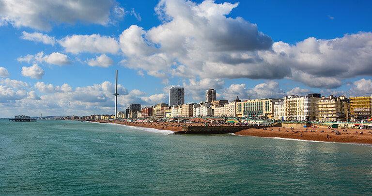 Front de mer de Brighton