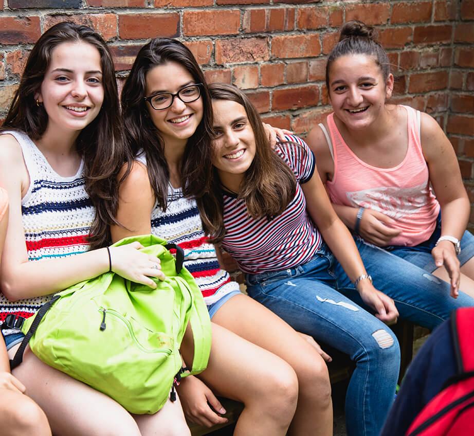 Des étudiants BSC dans York