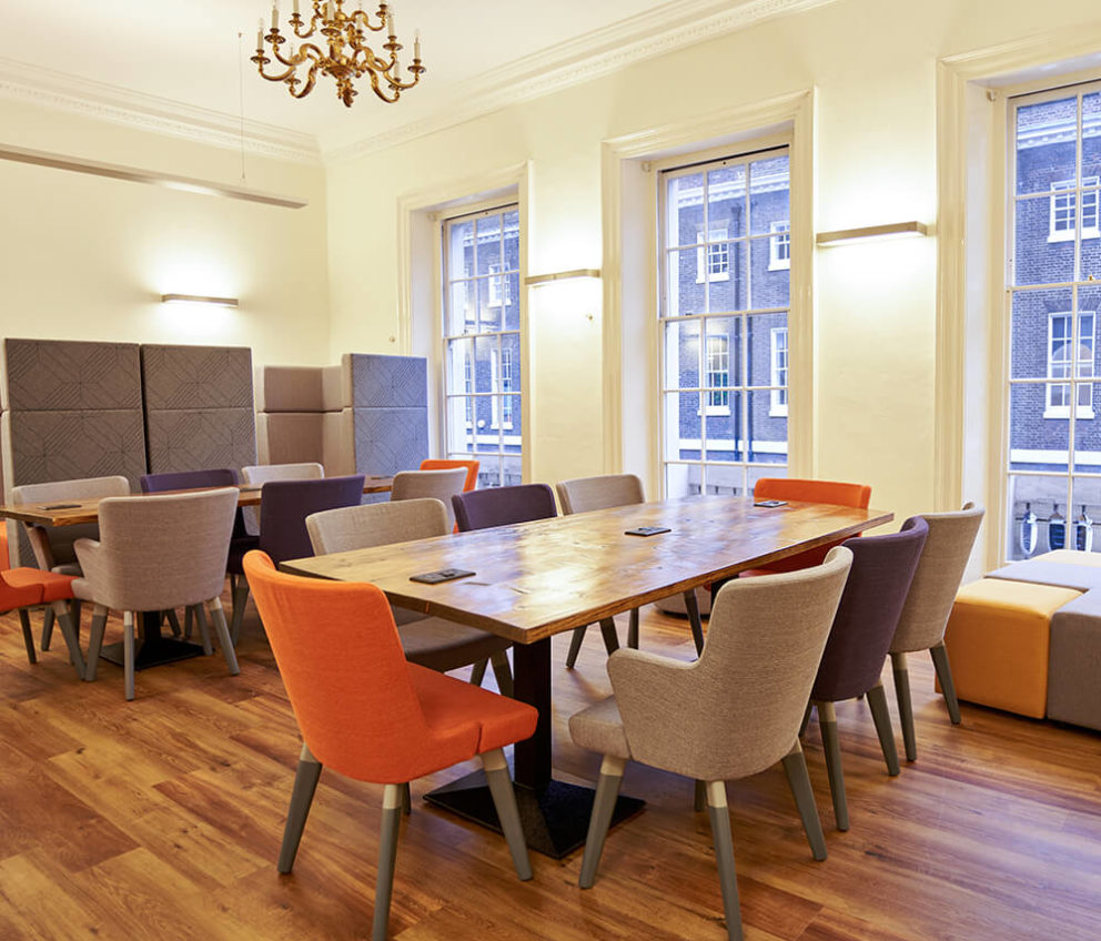 Sala principal de BSC Londres